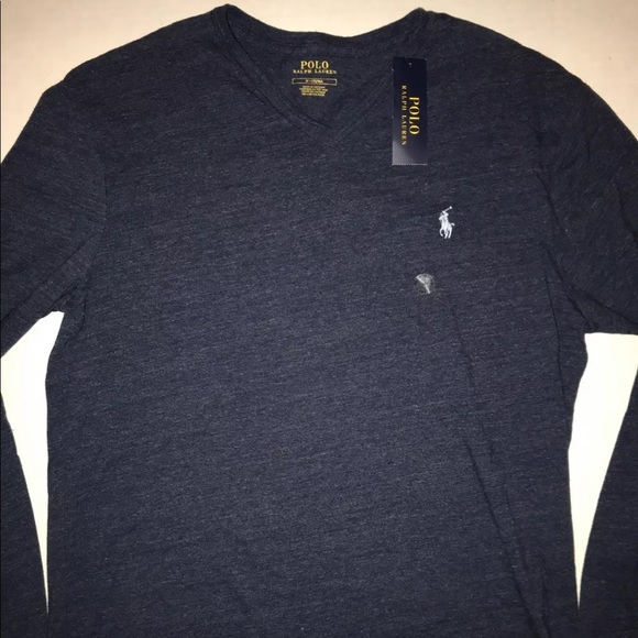 Polo Nwt Fit Ralph Sleeve Classic Long T Shirt Lauren fyvY6bgI7
